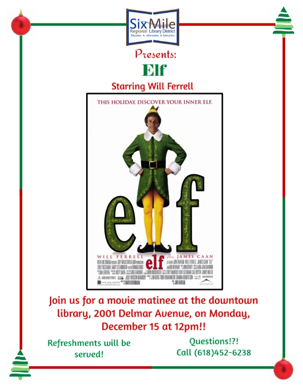 Elf December Movie Flyer_001